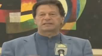 PM Imran Khan Addresses Doctors At Cantonment Hospital Rawalpindi