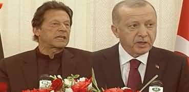PM Imran Khan And Tayyip Erdogan Joint Press Conference - 14th February 2020