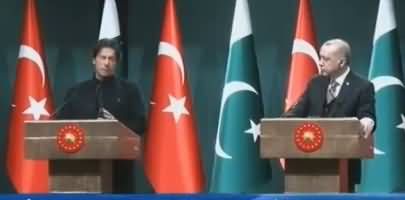 PM Imran Khan And Turkish President Tayyip Erdogan's Joint Press Conference - 4th January 2019