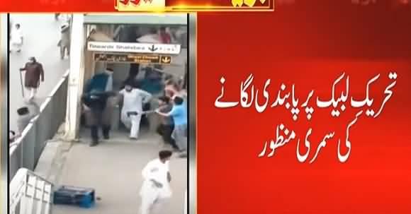 PM Imran Khan Approved Summary to Ban Tehreek-e-Labbaik