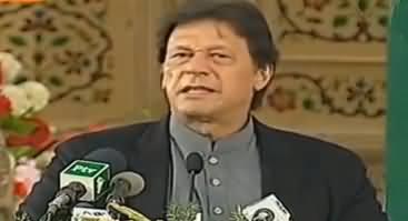 PM Imran Khan's Reply To Media For Criticizing CM Punjab Usman Buzdar