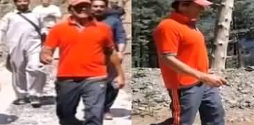 PM Imran Khan Spends Eid Day On Nathia Gali Track - Pictures Go Viral