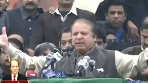 PML-N power show Nawaz addresses party supporters in Jaranwala