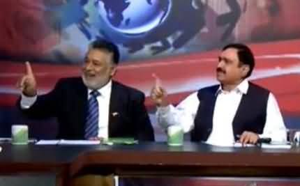 PMLN Abdul Manan Gets Angry on PAT Member & Starts Shouting in Live Show