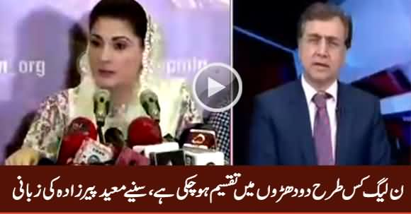 PMLN Has Divided Into Two Groups - Mansoor Ali Khan Analysis