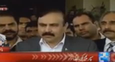 PMLN Leaders Full Media Briefing Outside Supreme Court Regarding Panama Case