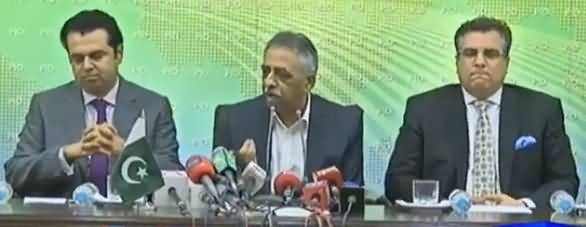 PMLN Leaders Press Conference Against Imran Khan In Islamabad - 28th September 2016