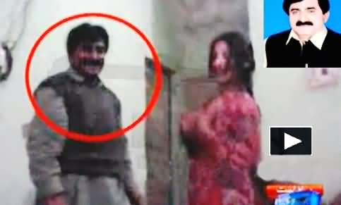 PMLN MPA Mian Alamdar Leaked Video: Watching Mujra of a Call Girl