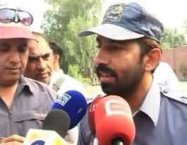 PMLN MPA Nematullah Gill Beated Traffic Wardens on Stopping him