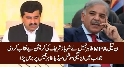 PMLN MPA Spills The Bean, Says Shahbaz Sharif Is Involved in Massive Corruption