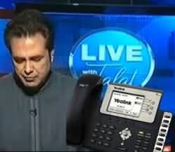 PMLN Supporter Call in Live Talat Program - We Have No Argument Now To Defend