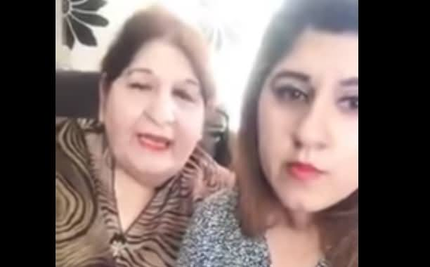 PMLN Supporter Mother And Daughter Telling The Reality of Viral Video Against Nawaz Sharif