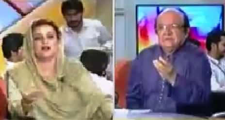 PMLN Was Bribing For Votes - Imtiaz Alam Telling The On Face Of Uzma Bukhari