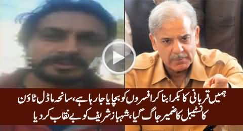 Police Constable Exposed Shahbaz Sharif & Police Officers in Model Town Incident