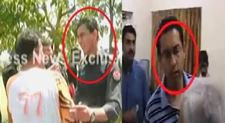 Police Officers Caught Red Handed While Pressurizing Doctors to Change Medical Reports of PAT Workers