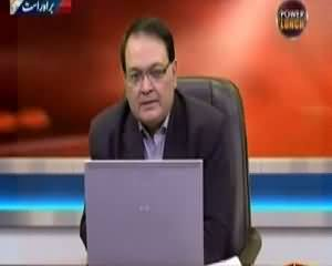 Power Lunch (Altaf Hussain in Police Custody) - 14th April 2015