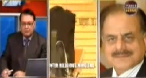 Power Lunch – (General (R) Hameed Gul Exposed Democracy) - 27th January 2015