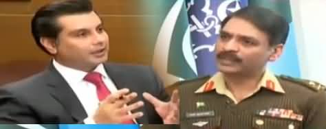 Power Play (DG ISPR Maj. Gen. Asif Ghafoor Exclusive Interview) - 11th January 2018