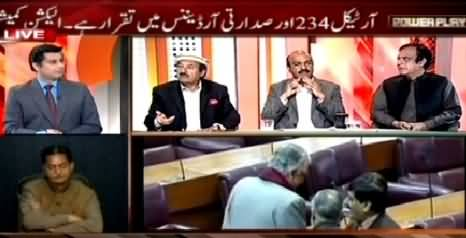 Power Play (Imran Khan Warns to Come on Roads Again) – 6th March 2015
