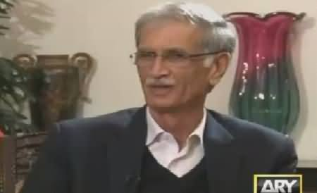 Power Play (Pervez Khattak Exclusive Interview) – 10th January 2016