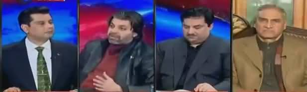 Power Play (PPP Ka Siraj Durrani Ki Giraftari Per Ahtajaj) - 21st February 2019