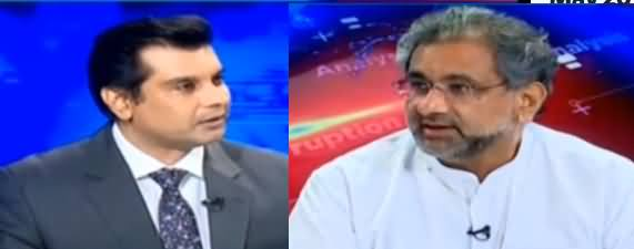 Power Play (Shahid Khaqan Abbasi Exclusive Interview) - 30th May 2019