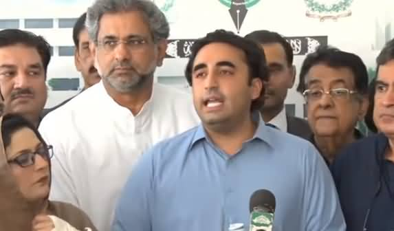 PPP And PMLN Leaders Media Talk After Heated Session of NA - 31st May 2019