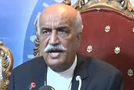 PPP Leader Syed Khursheed Shah Press Conference – 30th April 2019