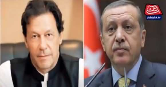 President Erdogan Telephonic Contact With PM Imran Khan, Discussed Various Issues