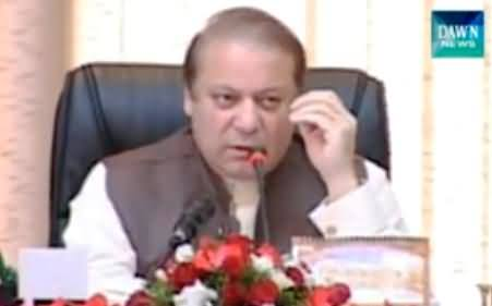 Prime Minister Nawaz Sharif Calls Polio Task Force Meeting To Discuss Polio Issue