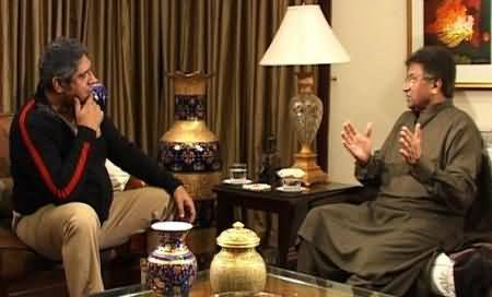 Prime Time (Pervez Musharraf Exclusive Interview with Rana Mubashir After 9 Months of Silence) - 19th December 2013