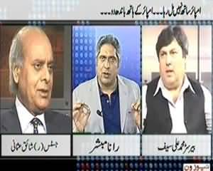 Prime Time With Rana Mubashir (Why New & Old Fellows Of Chief Justice Unhappy) – 9th December 2013