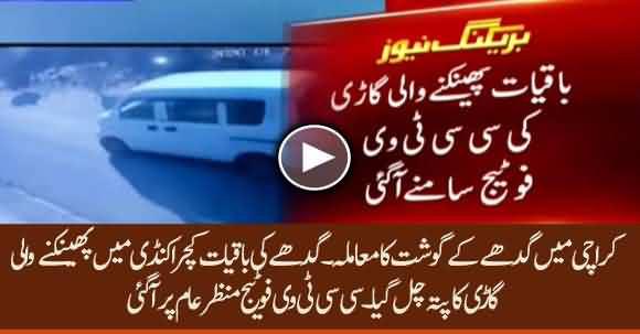 Progress In Donkey's Head Found In Karachi Issue - CCTV Footage Unveils Truth