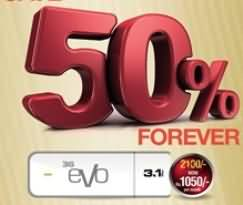 PTCL Offers 50 Percent Lifetime Discount on EVO and EVO Wingle Buying This Week