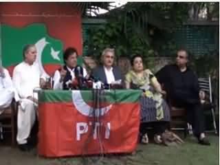 PTI Chairman Imran Khan Full Press Conference on NAB Chief 12th Oct 201