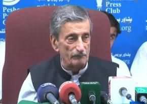 تحریک انصاف نے غریبوں پر مارشل لا نافذ کر دیا ہے۔ غلام احمد بلور