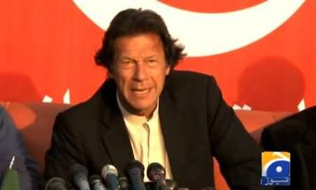PTI Has Strongest Street Power and We Will Not Let this Govt Work - Imran Khan
