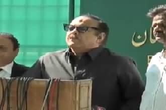 PTI Leader Naeem ul Haque Media Talk - 12th October 2017