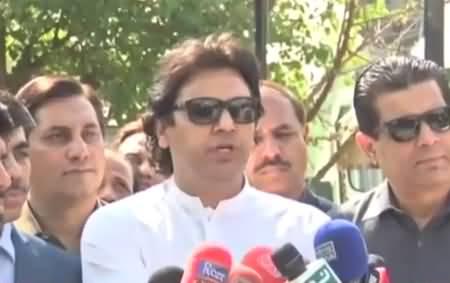 PTI leader Usman Dar´s Media Talk -  8th March 2018