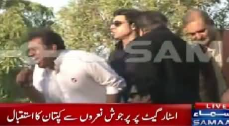 PTI Lion Ali Zaidi Roaring On The Streets of Karachi, Must Watch