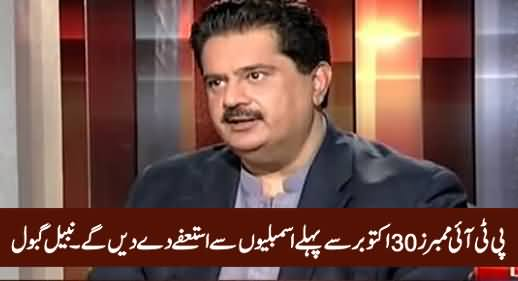 PTI Members Will Resign From Parliament Before 30th October - Nabil Gabol
