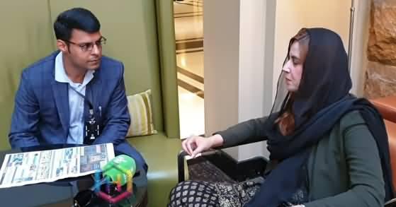 PTI Minister Zartaj Gul Interview in Sydney (Australia)