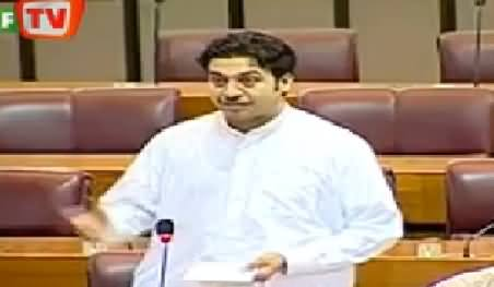 PTI MNA Qaiser Jamal Speech on Budget in National Assembly - 16th June 2014