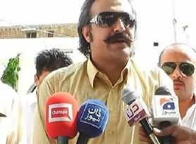 PTI MPA Ali Amin Khan Telling Media How they Caught Fazal ur Rehman Wapda Material As Pre Poll Rigging