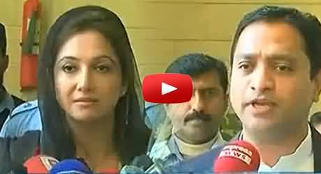 PTI MPA Presents Flowers To Each Member of Sindh Assembly on Valentine's Day