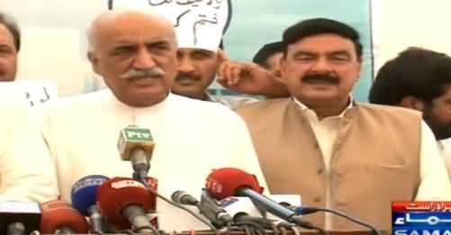 PTI, PPP & MQM Leaders Media Talk Against Govt on Load Shedding - 22nd June 2015