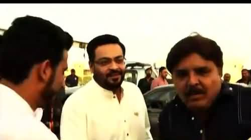 PTI's Imran Ismail's Response On Aamir Liaquat Leaving Party