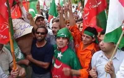 PTI Tiger Force Ready to Shut Down Lahore From 6 Points on December 15