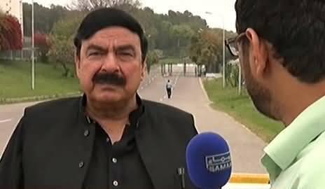 PTI Waale Panama Main Shamil Hoon to Ziada Saza Milni Chahiye - Sheikh Rasheed