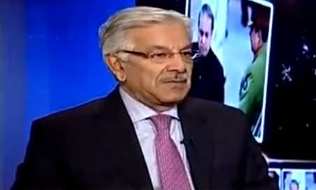 PTI Waalon Mein Zara Si Bhi Grace Nahi Hai - Khawaja Asif Comments on His Victory
